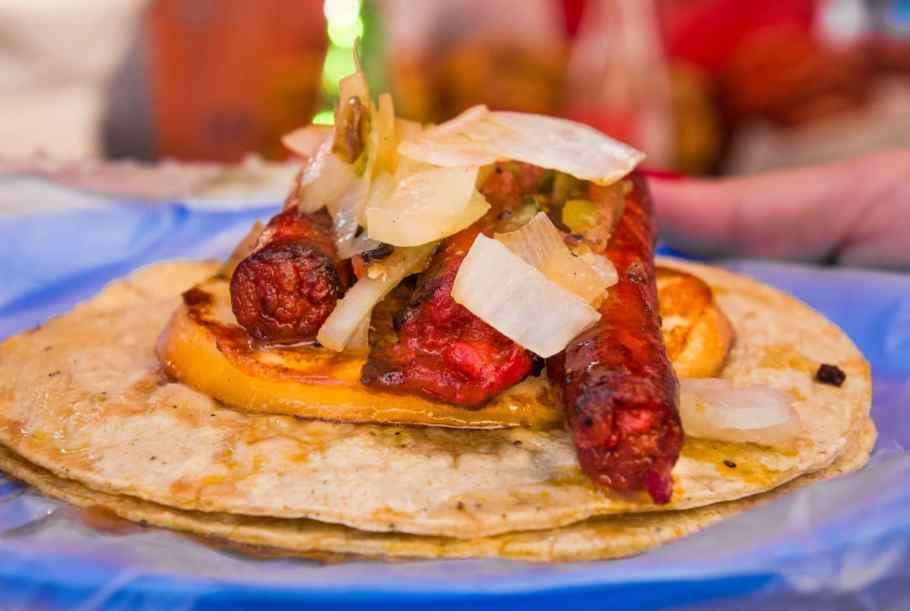 Kulinarische Highlights: Taco Chistorra con Queso