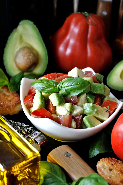 Rezept für Avocado-Salat von Einmal Nachschlag, bitte!