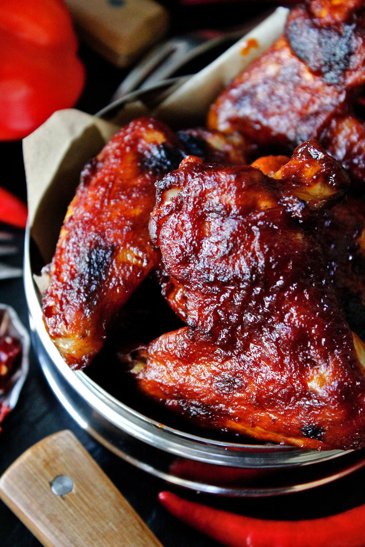 Rezept für BBQ Chicken Wings von Einmal Nachschlag, bitte!