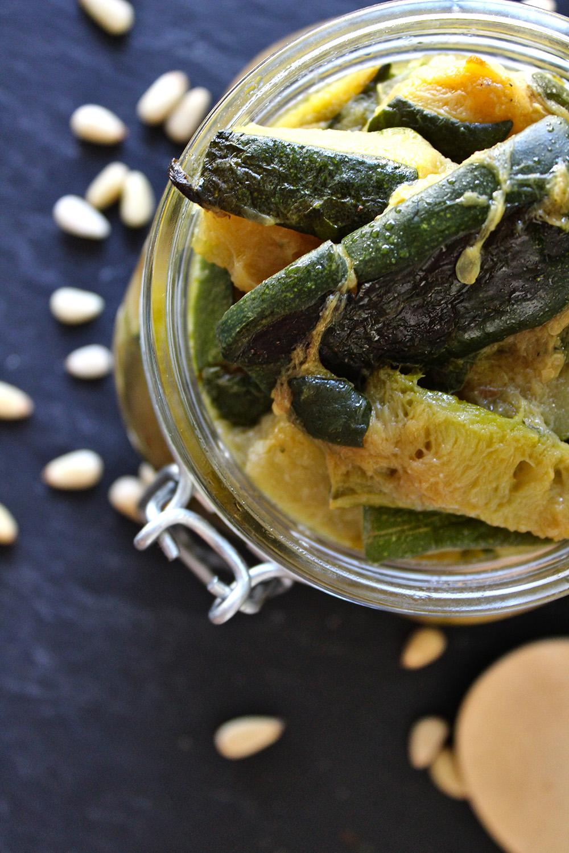 Rezept für geschmorte Zucchini von Einmal Nachschlag, bitte!