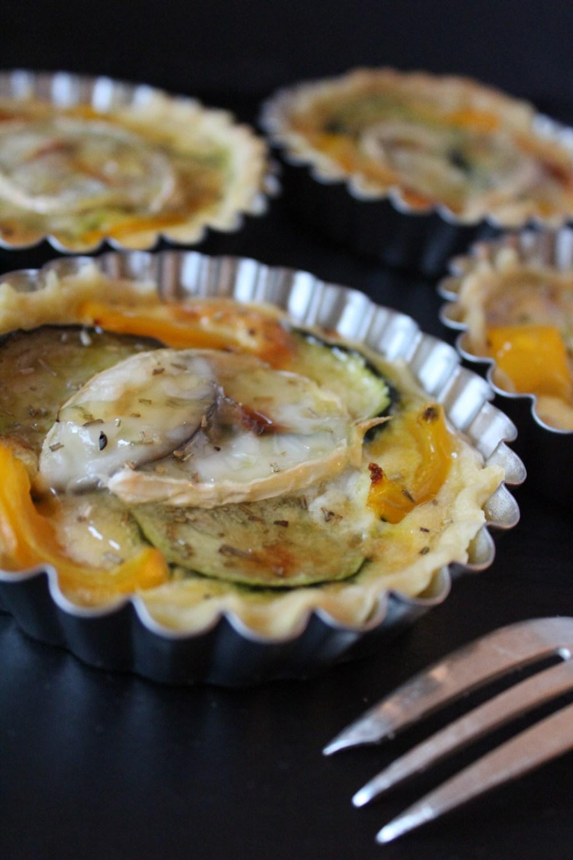 Ziegenkäse-Tartelettes von Einmal Nachschlag, bitte | Foto: Linda Katharina Klein