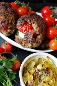 Gefüllte Mini-Bifteki von Einmal Nachschlag, bitte!