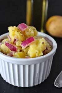 Griechischer Kartoffelsalat von Einmal Nachschlag, bitte!