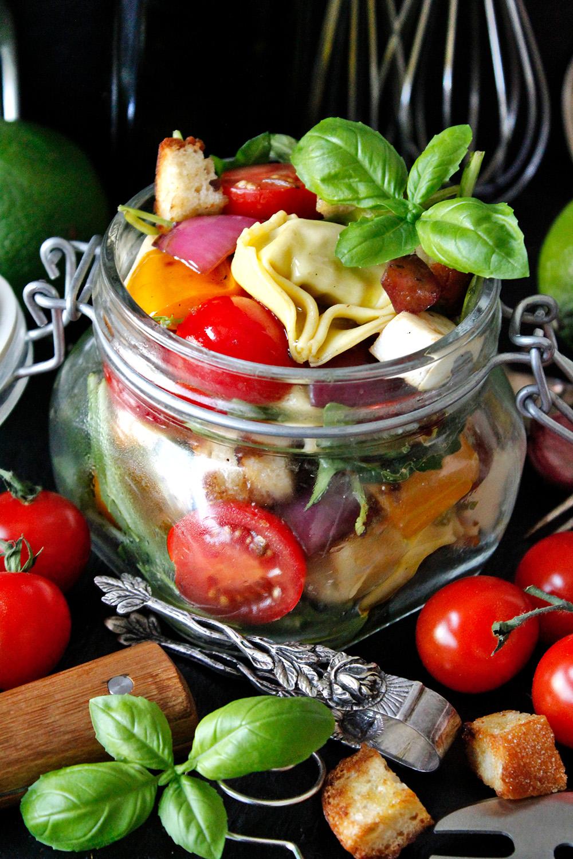 Rezept für Tortellini-Salat von Einmal Nachschlag, bitte!