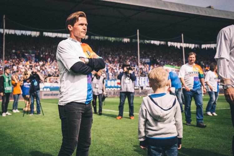 Mit seinem Tor schoss Dariusz Wosz seinen VfL endgültig wieder in die Bundesliga.