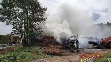 Flächenbrand Bodenheim-Nackenheim