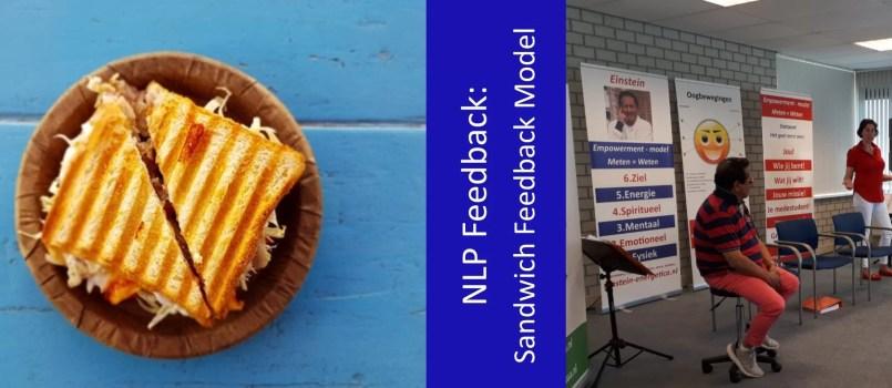 NLP Sandwich Feedback Model