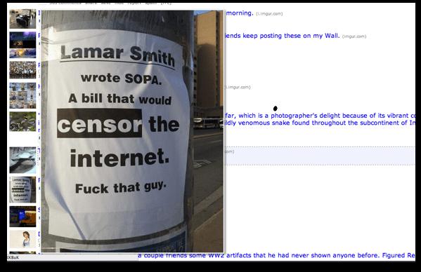 Hover Zoom í notkun á Reddit