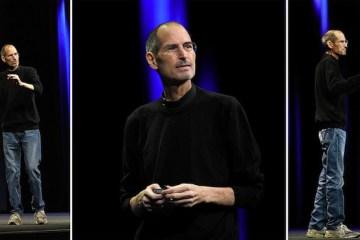 Steve Jobs - rúllukragapeysa