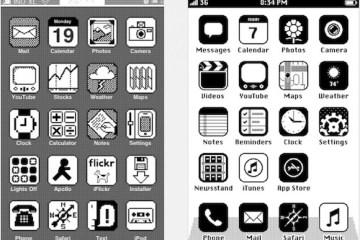 iOS - níundi áratugurinn