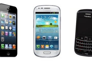 iPhone vs Android vs BlackBerry