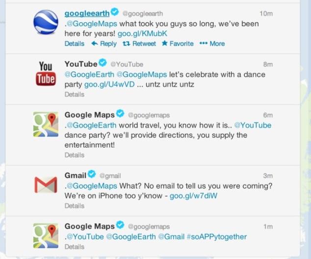 Google fagnar komu Google Maps í App Store