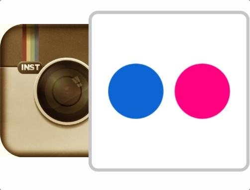 Instagram - Flickr