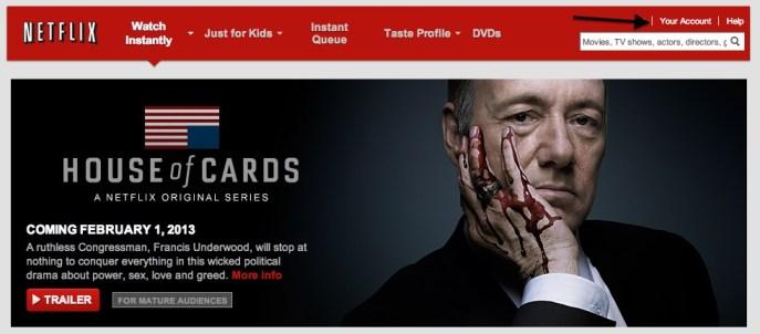 Netflix - forsíða