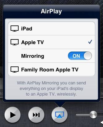 AirPlay speglun