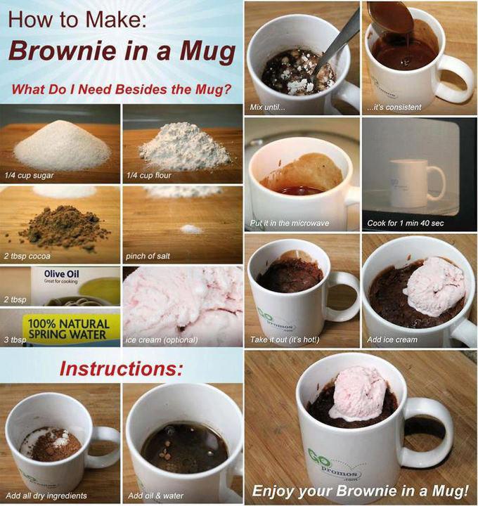 Drykkjarkönnu-Brownie