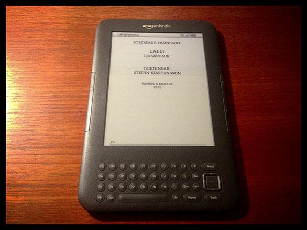 Lalli ljósastaur - Kindle