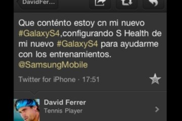 David Ferrer iPhone