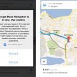 Google Maps - Raddleiðsaga