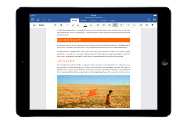Microsoft Office - iPad