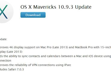 Mac OS X - 10.9.3