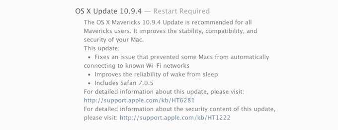Mac OS X - 10.9.4