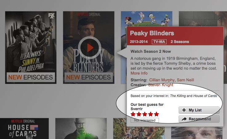 Netflix - einkunn