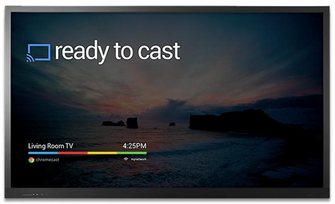 Chromecast uppsetning