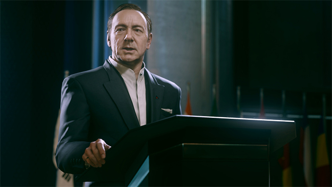 Call of Duty - Kevin Spacey