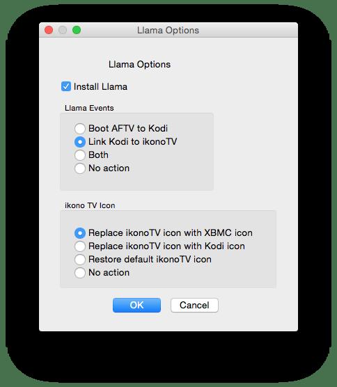 Amazon Fire TV - XBMC - Llama