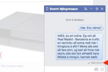 Facebook Seen
