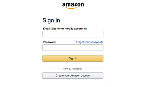 Amazon - Sign in