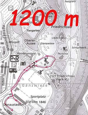 1200 m