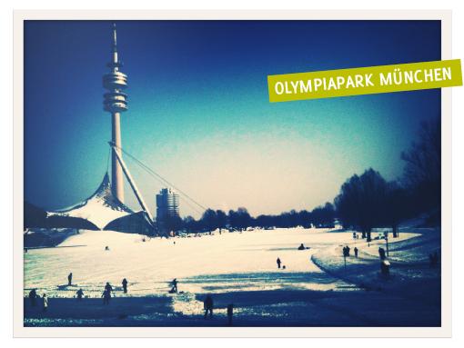 Olympiapark, München, Winter
