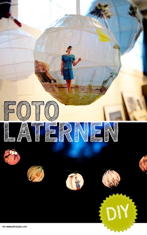 Fotolaterne, DIY, DIY Lampe