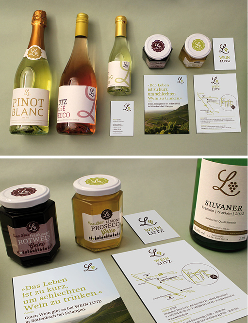 corporate design wein