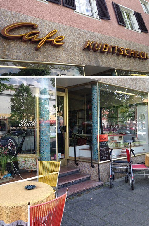 Torte München Oma-Café 50er Jahre München