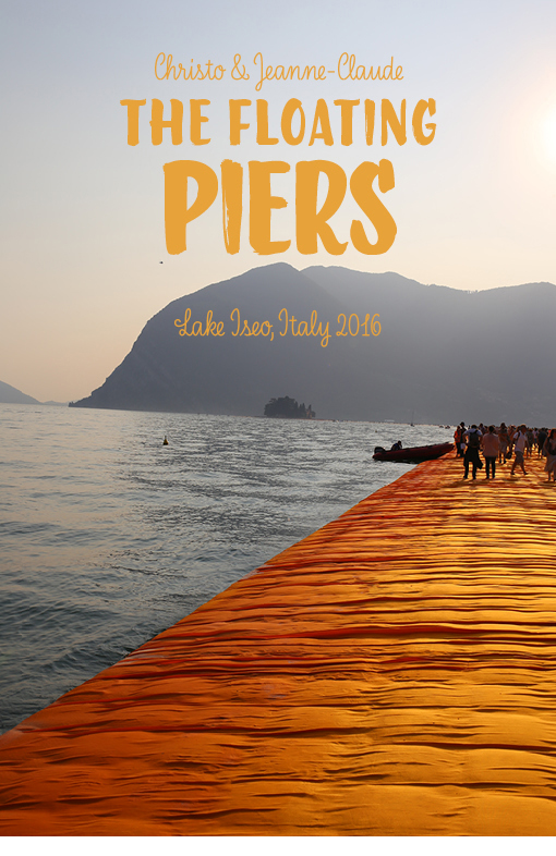 lago d'iseo, Iseo-See, Iseo, Christo, The Floating Piers