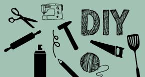 Selbermachen, DIY, Nähen, Heimwerken, Kochen, Backen