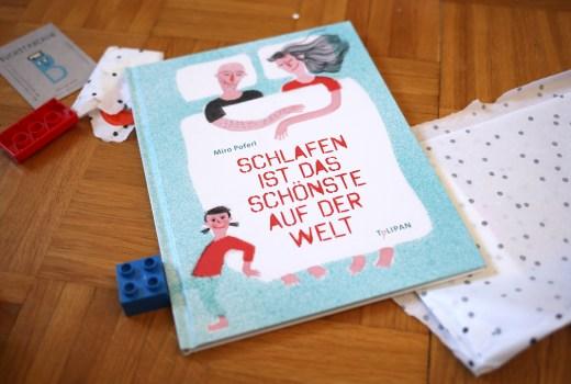 Miro Pofer, Schlafen ist das Schönste, Kinderbuch, Tulipan