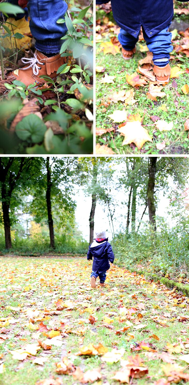 Herbst, Mama und Kind, Kinderkrippe, Kinderschuhe