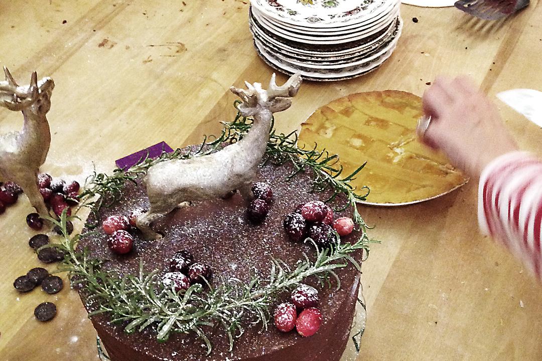 In der Weihnachtsbäckerei  Backworkshop mit Melissa Forti