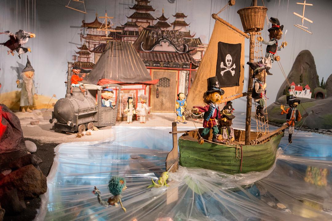Augsburger Puppenkiste, Museum mit Kindern, Museumstipp Augsburg und München, Kindermueseum, Puppenkiste