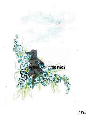 Wasserzeichen_Aquarell blaue Blüten Girlande 04-20