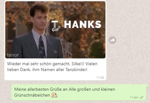 20 Osterdanke - Grünschnabel