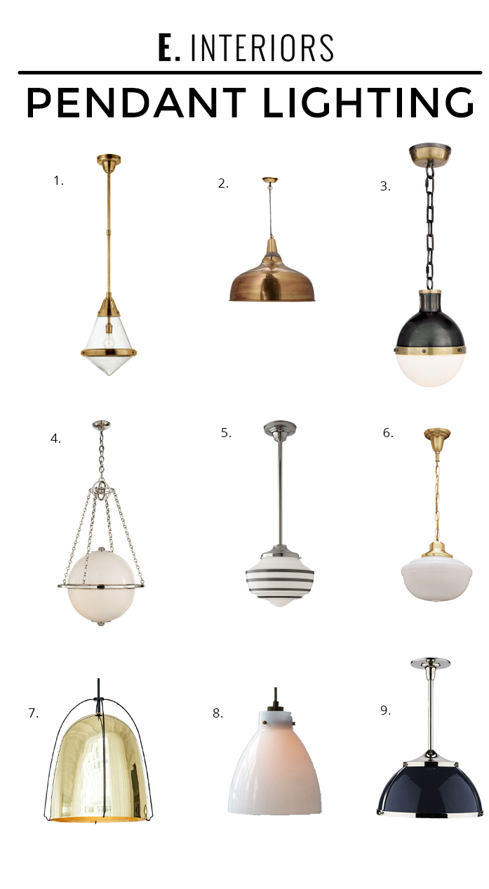 Pendant Lighting_edited-1 - HOW TO HANG PENDANT LIGHTS OVER AN ISLAND by popular home design blogger E.INTERIORS