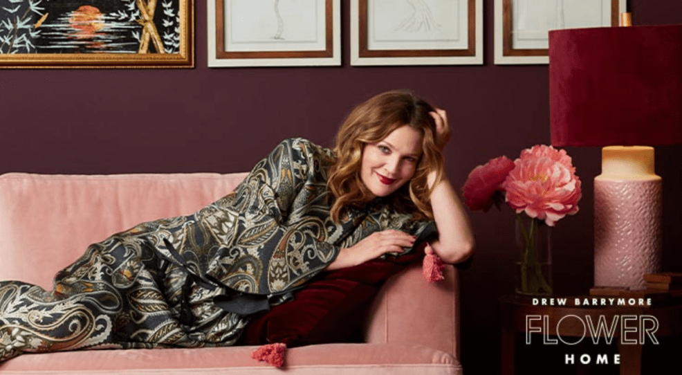 DREW BARRYMORE FLOWER HOME featured by top interior design blog E. INTERIORS