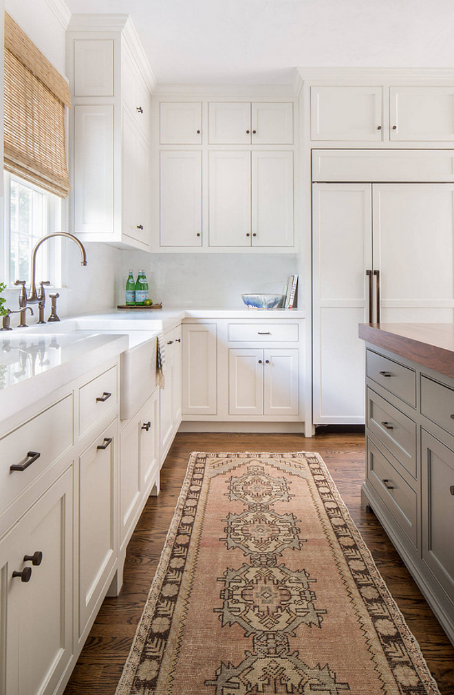 FAVORITE FALL KITCHEN RUNNERS by popular interior design blog, E. Interiors: image of a Fall kitchen runner.