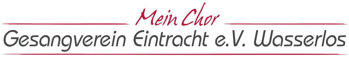 Gesangverein Eintracht Wasserlos e.V.