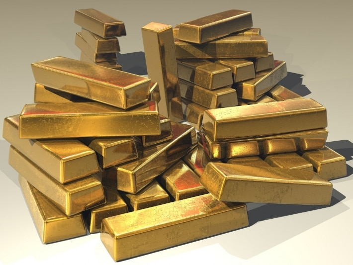 Gold bars, protection assets, hedge